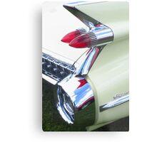 Classic Car - Rear Lights Metal Print