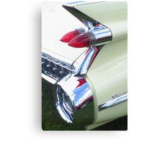 Classic Car - Rear Lights Canvas Print