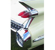 Classic Car - Rear Lights Photographic Print