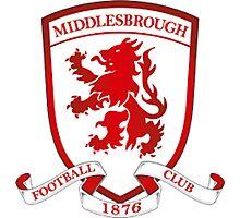 Middlesborough FC Badge - BPL Photographic Print