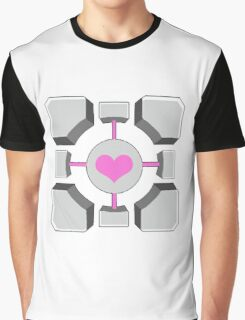 Portal - Companion Cube Graphic T-Shirt