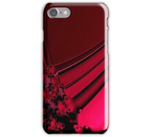 Red Satin Tapestry iPhone Case/Skin