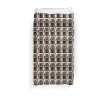 Front Door, Peppersack, Old Town, Tallinn, Estonia Duvet Cover