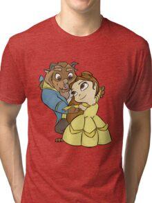 Chibi B&B Tri-blend T-Shirt