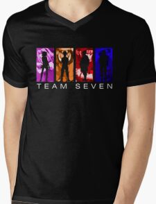 Team Seven Mens V-Neck T-Shirt