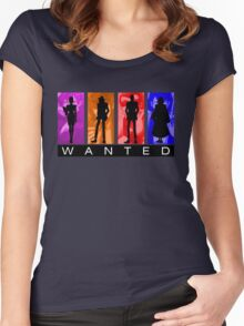 Wanted Lupin III Women's Fitted Scoop T-Shirt