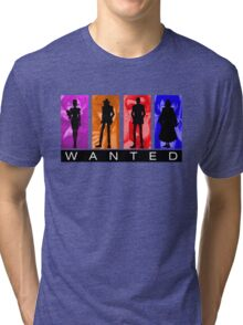 Wanted Lupin III Tri-blend T-Shirt