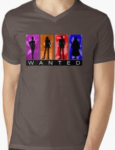 Wanted Lupin III Mens V-Neck T-Shirt