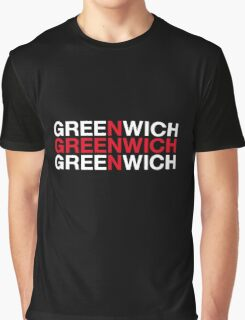 GREENWICH Graphic T-Shirt