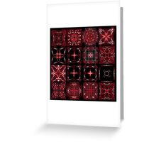 Bandana Patterns Greeting Card