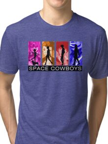 Cowboys in Space Tri-blend T-Shirt