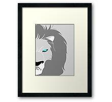 Lion Helmsley Framed Print