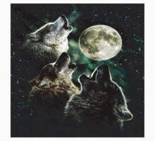 Three wolf moon Kids Tee