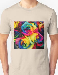Rose Rainbow Unisex T-Shirt