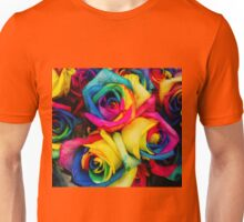 Rose Rainbow Unisex T-Shirt