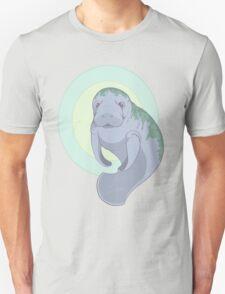 Cute Underwater Manatee with Algae  T-Shirt