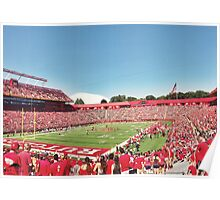 Rutgers Football Field  Poster