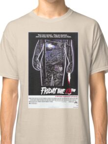 Friday the 13th - Original Poster 1980 Classic T-Shirt