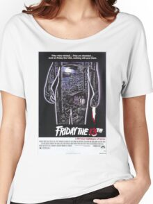 Friday the 13th - Original Poster 1980 Women's Relaxed Fit T-Shirt