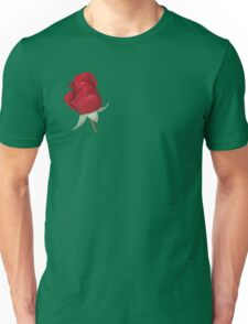 Red Rose Bud Unisex T-Shirt