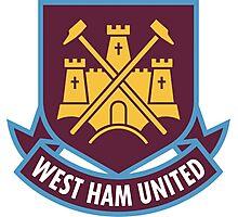 West Ham United Badge - BPL Photographic Print