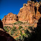 Backside of Cathedral Rock Trail by eegibson
