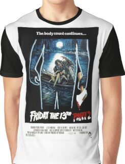 Friday the 13th Part 2 - Original Poster 1981 Graphic T-Shirt