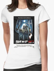 Friday the 13th Part 2 - Original Poster 1981 Womens Fitted T-Shirt