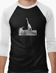 Lunarsaurus Men's Baseball ¾ T-Shirt