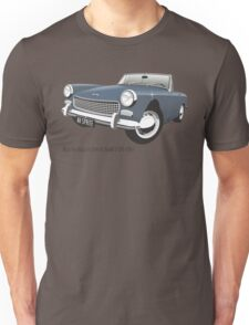 Austin Healey Sprite mark 3 blue Unisex T-Shirt
