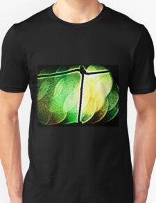 SLICES OF GREEN & YELLOW GLASS T-Shirt