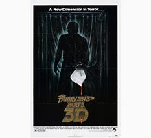 Friday the 13th Part 3 (3D) - Original Poster 1982 Unisex T-Shirt