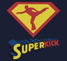 Superkick! (White) Kids Tee