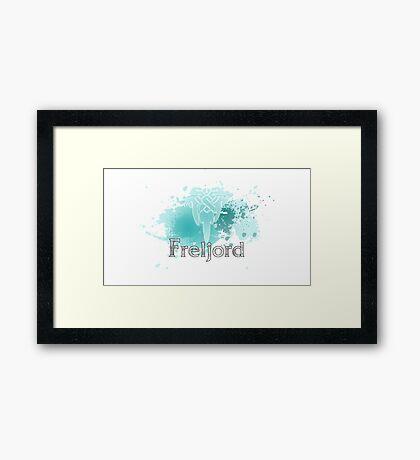 Abstract Freljord Logo Framed Print