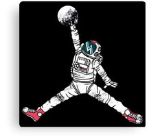 Slam Dunk In Space Canvas Print