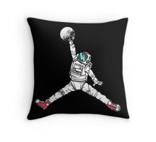 Slam Dunk In Space Throw Pillow