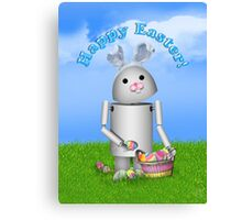 Cute Easter  Robo-x9  Canvas Print
