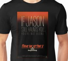 Friday the 13th Part 5 (A New Beginning) - Original Poster 1985 Unisex T-Shirt