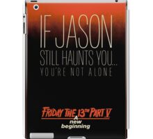 Friday the 13th Part 5 (A New Beginning) - Original Poster 1985 iPad Case/Skin