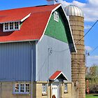 Colorful Barn by EBArt