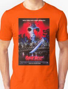 Friday the 13th Part 8 (Jason Takes Manhattan) - Original Poster 1989 Unisex T-Shirt