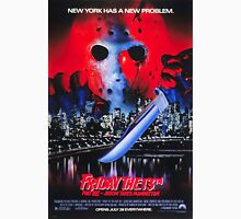 Friday the 13th Part 8 (Jason Takes Manhattan) - Original Poster 1989 Unisex T-Shirt