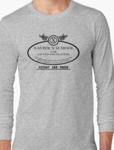 Xavier's School - Mutant and Proud Long Sleeve T-Shirt