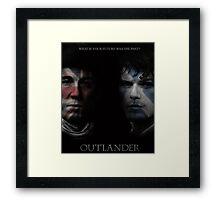 Outlander Jamie Fraser  Framed Print