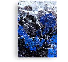 Blue Cliff Canvas Print