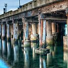 1034 Beneath the Pier by DavidsArt