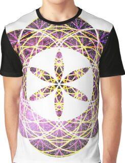 Geo Scorpius | Sacred Geometry Flower of Life Sticker Graphic T-Shirt