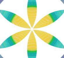 Eye of 24 | Sacred Geometry Flower of Life Sticker Sticker