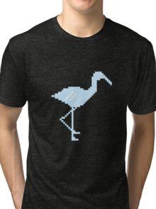 Blue Flamingo! Tri-blend T-Shirt