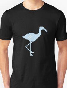 Blue Flamingo! Unisex T-Shirt